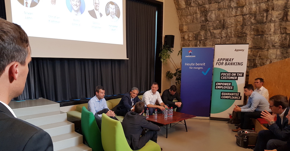 Appway Swisscom Client Lifecycle Management Panel Discussion